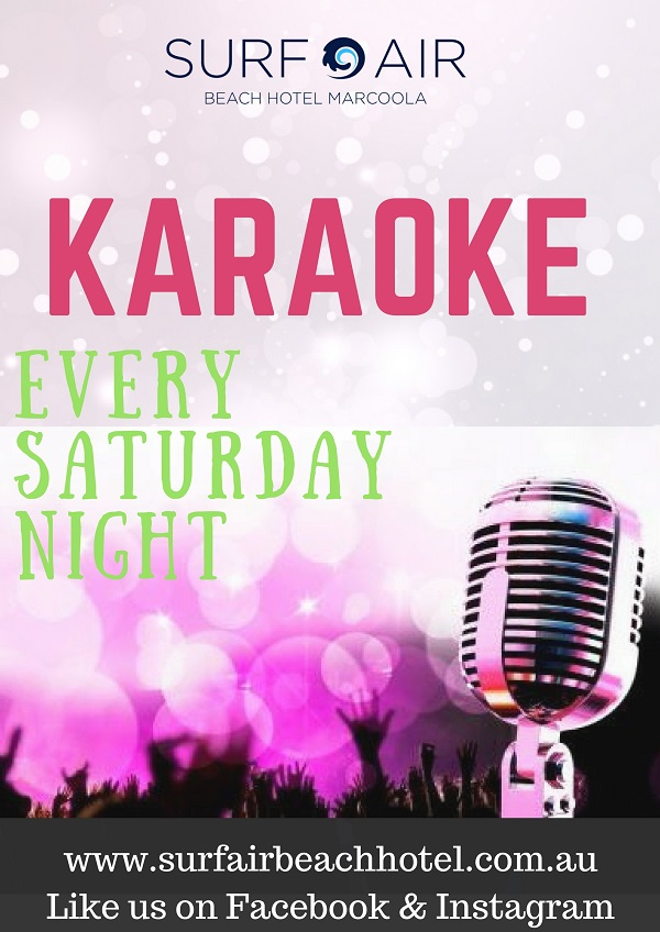Karaoke - Saturday Nights