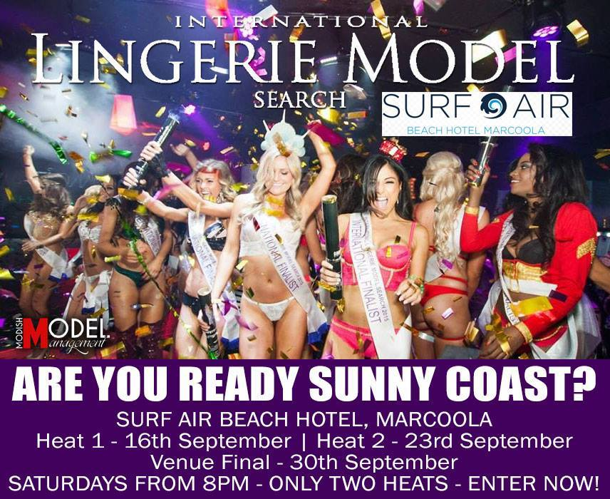INTERNATIONAL LINGERIE MODEL SEARCH GRAND FINAL
