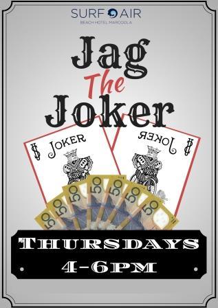 JAG the JOKER & FREE POOL