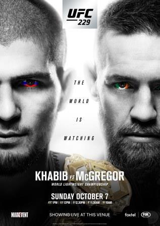 UFC 229 KHABIB VS MCGREGOR