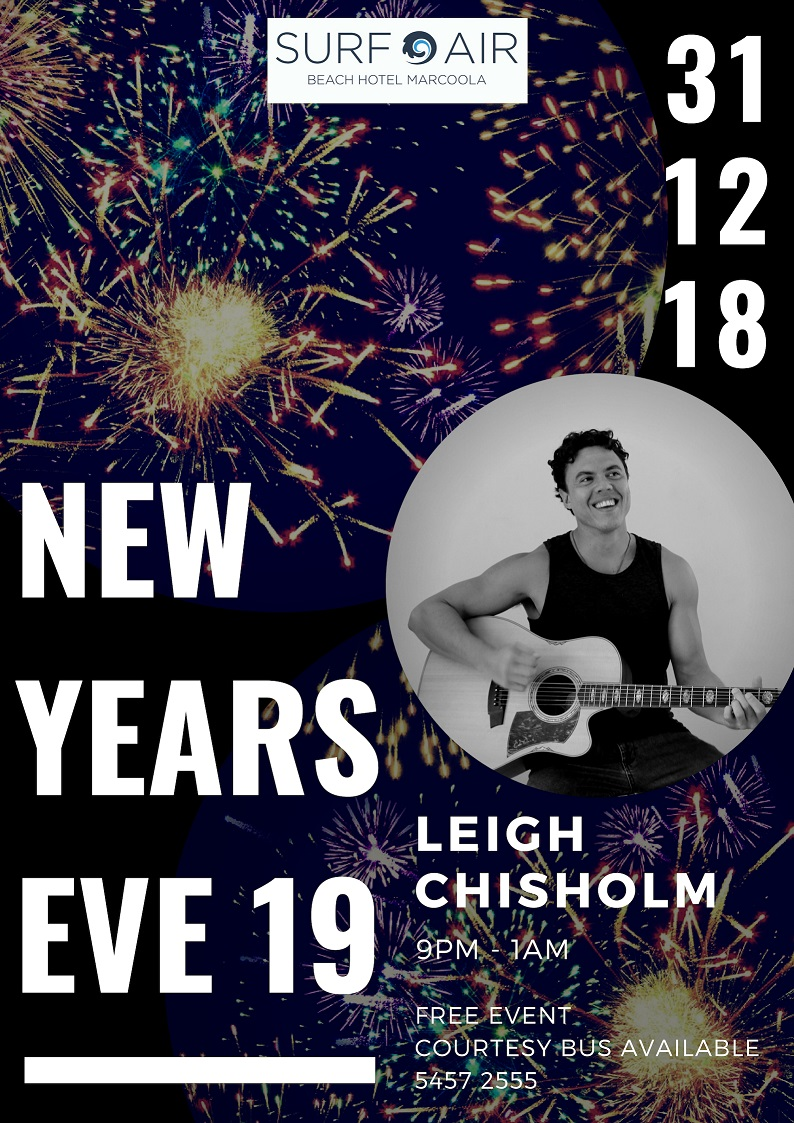 NEW YEARS EVE WITH LEIGH CHISHOLM