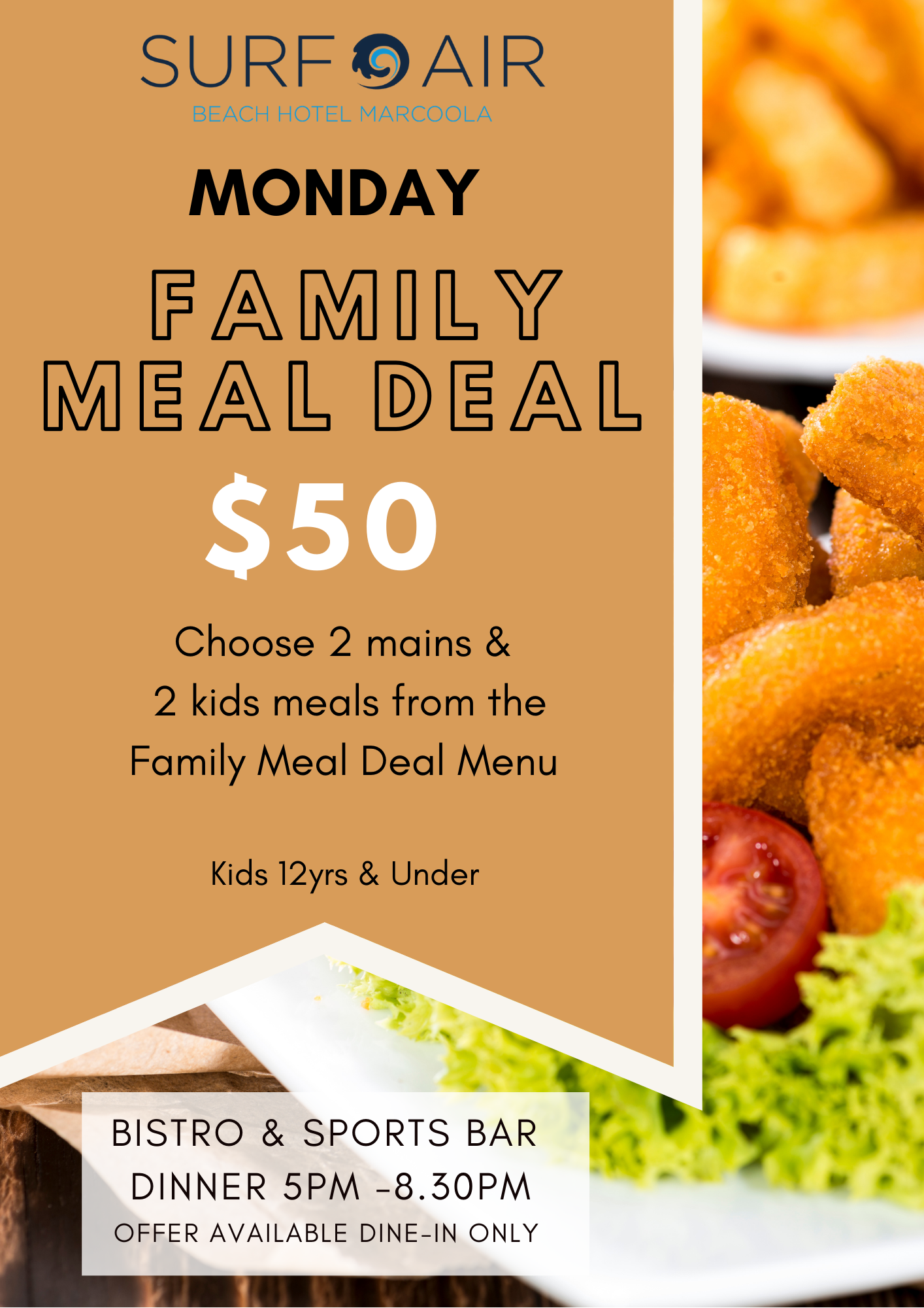Monday Night Family Meal Deal